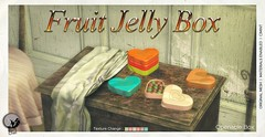 New release : Fruit Jelly Box : Gift for Shop & Hop Valentine