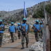 Indian peacekeepers on foot patrol with LAF