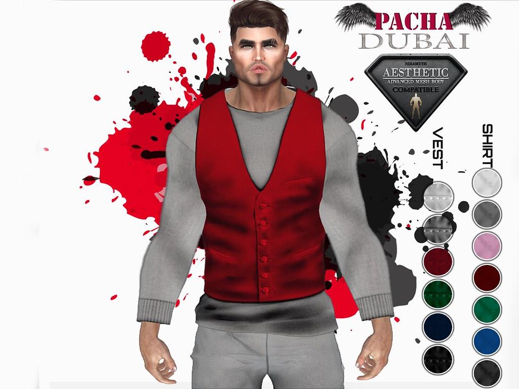 PACHA_AESTHETIC_ Shirt &Vest Classic
