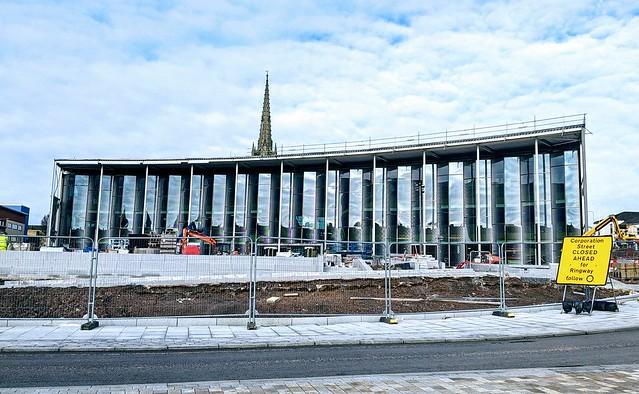 The new UCLan university building in Preston