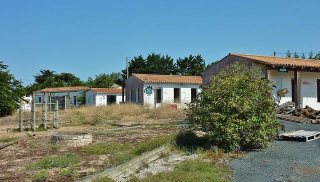 Village de vacances abandonné, ile de Ré