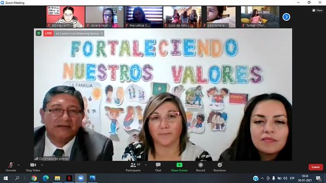 """""""Encuentro de niños: Fortaleciendo Nuestros Valores"""""""