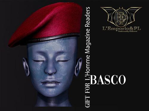 L'Emporio&PL -Basco- Military Beret- February Gift