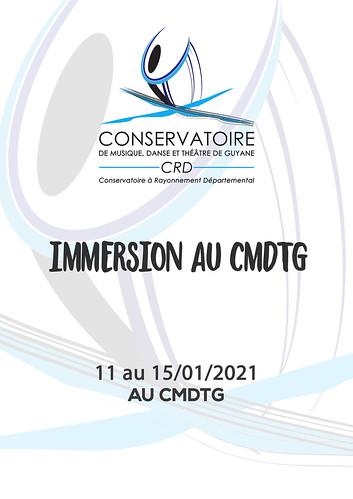 Immersion au CMDTG (11 au 15/01/2021)