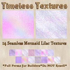 TT 14 Seamless Mermaid Lilac Timeless Textures