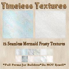 TT 12 Seamless Mermaid Frosty Timeless Textures