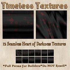 TT 12 Seamless Heart of Darkness Timeless Textures