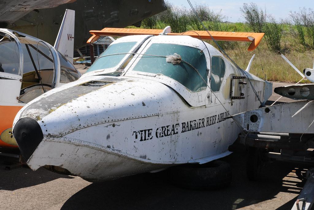 Lake LA-4-200 Buccaneer VH-EJY, Australian Aviation Museum, Bankstown, NSW, Australia.