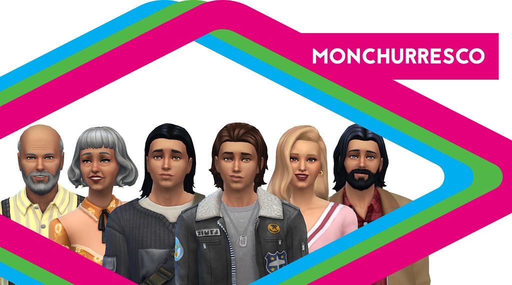 Sims de Antaño: Los Monchurresco