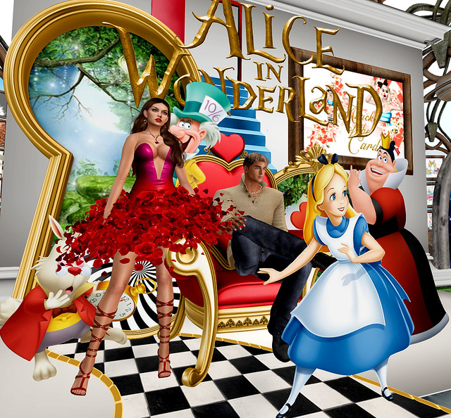 Boudoir - Alice, Jerzzie and Wonderland