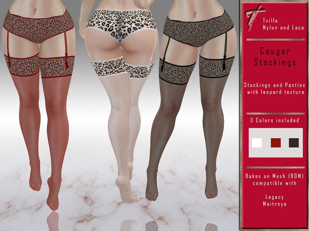 Tville – Cougar Stockings