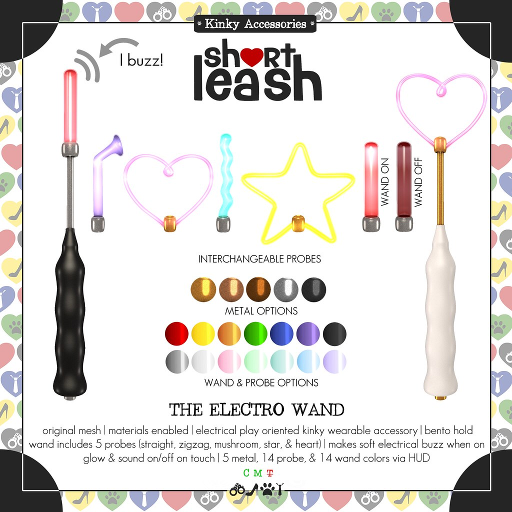 .:Short Leash:. The Electro Wand