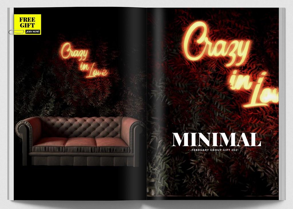 MINIMAL - February Group Gift 2021
