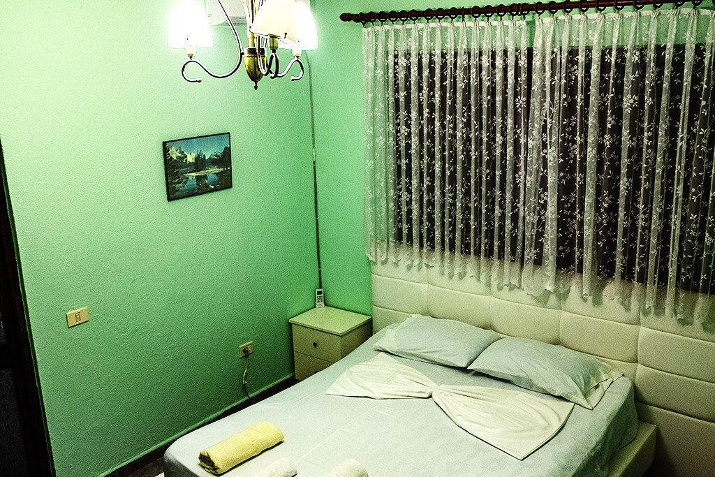 My $427 a month room on 2-4-21--Tirana