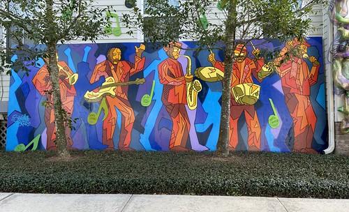 Jazz Foundation of America - side. 6075 Laurel at Webster.