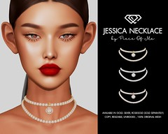 Jessica Necklace @ Thirsty Event on Feb, 5th
