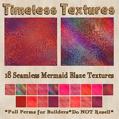 TT 18 Seamless Mermaid Blaze Timeless Textures