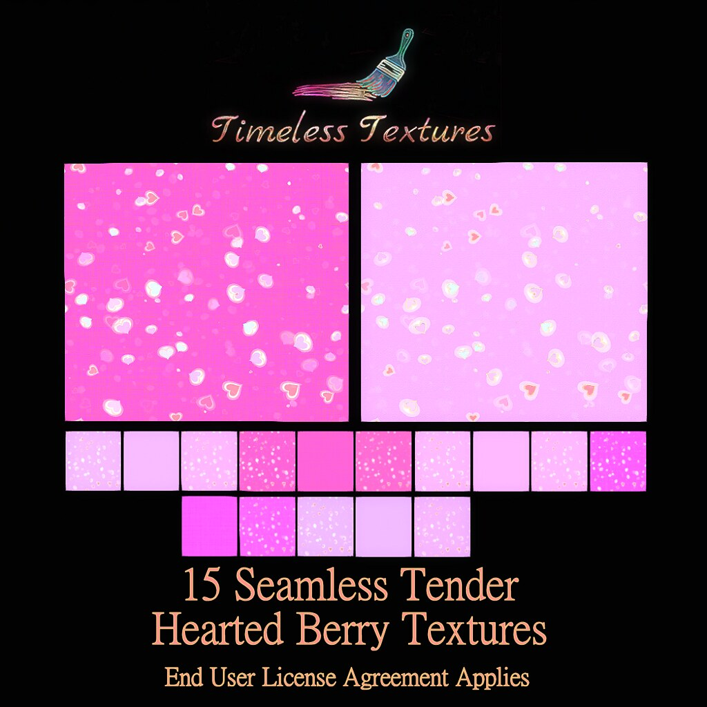 TT 15 Seamless Tender Hearted Berry Timeless Textures