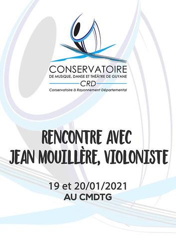 Rencontre avec Jean Mouillère violoniste (19 et 20/01/2021)