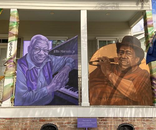 Jazz Foundation of America - front. 6075 Laurel at Webster.