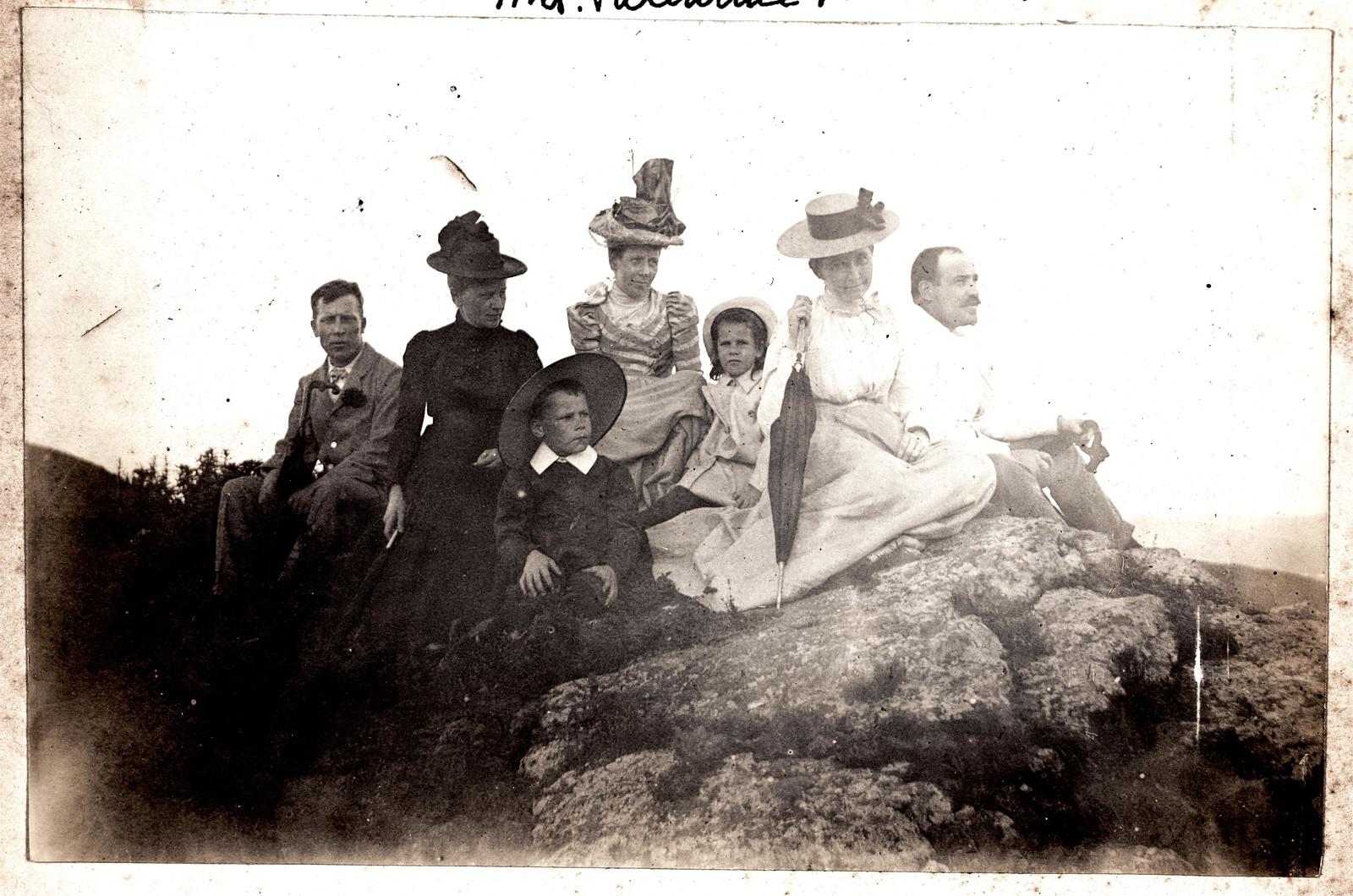 Группа на вершине Орлиного гнезда