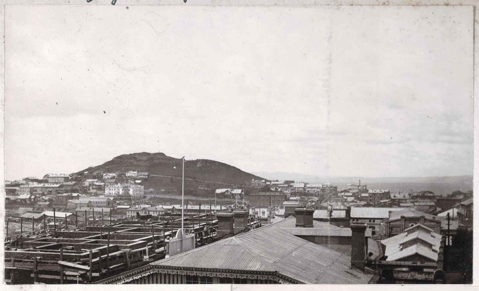 Вид города с веранды Дома Смитов на запад, в сторону центра