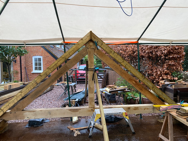 Testing the geometry of the common rafters