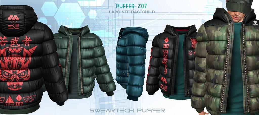L&B @ TMD: FEB SwearTECH Puffer Jackets!