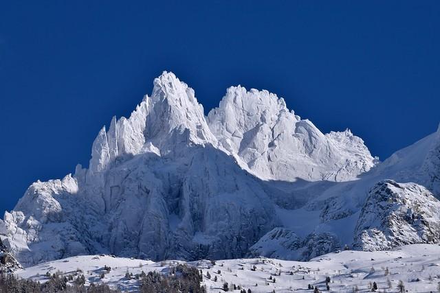 Sommets platrés - Icy sugar summits