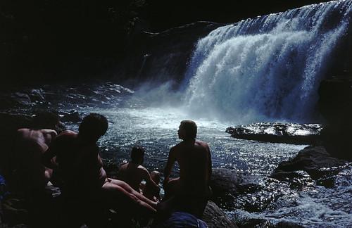 Skinnydipping at the Waterfall