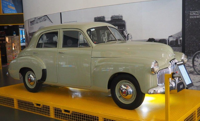 First Holden - The 1948 48-215