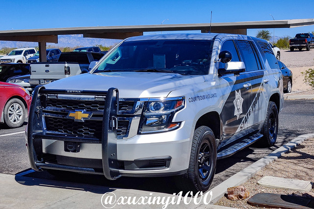 2018 Chevrolet Tahoe Police Pursuit Vehicle (PPV), APDS 18799