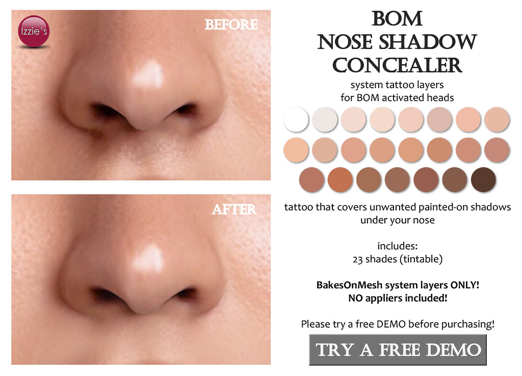 BOM Nose Shadow Concealer (for FLF)