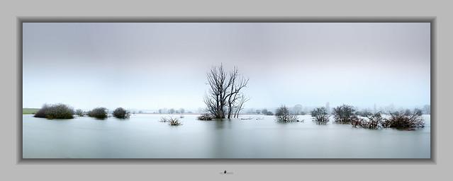 High tide (panorama of 3 photos)