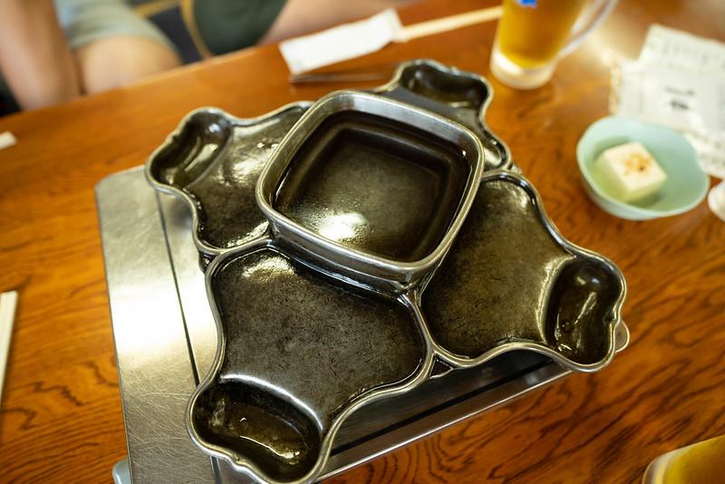 東川食堂のジンギスカン鍋