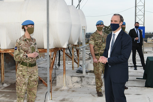 UK Foreign Secretary visit to Cyprus | by unficyp-public-information-office
