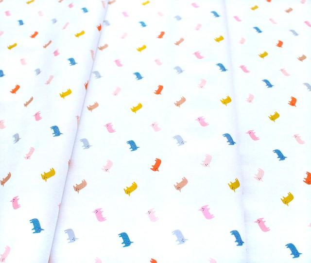 Paintbrush Studio Fabrics Animal Alphabet 120-21830 Unicorns
