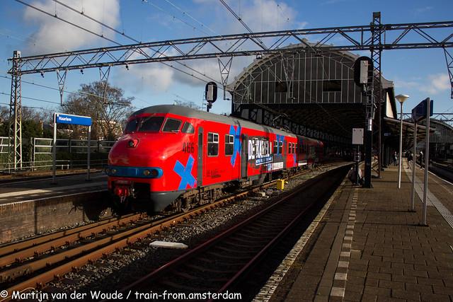 20210102_NL_Haarlem_De Karel 466 departs Haarlem Railway Station