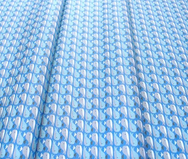 Paintbrush Studio Fabrics Animal Alphabet 120-21826 Whale