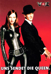 Uma Thurman and Ralph Fiennes in The Avengers (1998)