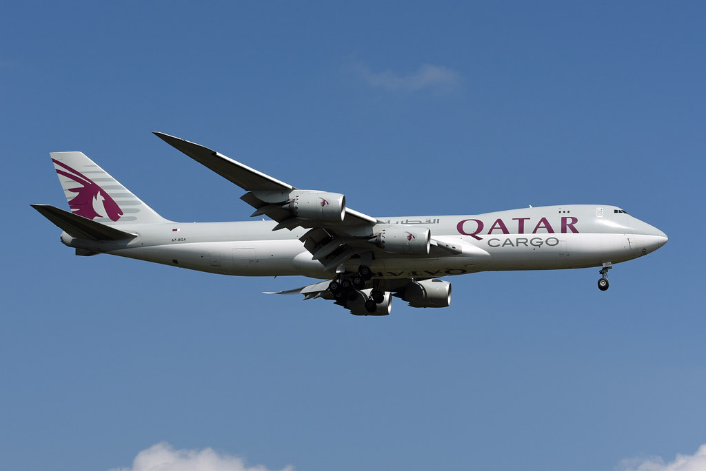 Qatar Airways Cargo Boeing 747-87UF A7-BGA