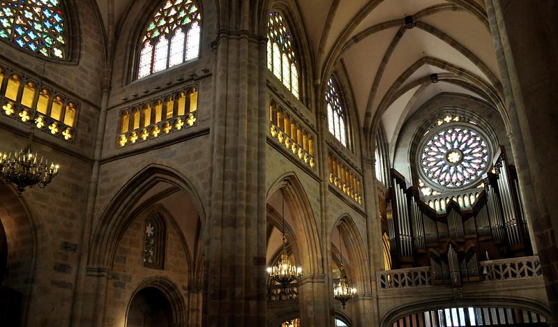 Cathédrale de Santiago, XIVe siècle, , Bilbao, Biscaye, Pays Basque, Espagne.