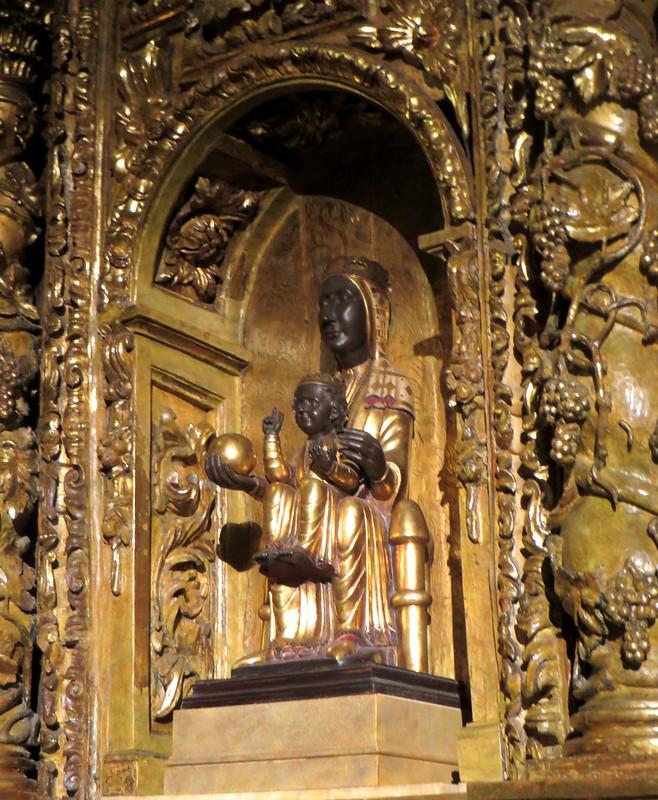 Notre-Dame de Montserrat, cathédrale de Santiago, XIVe siècle, , Bilbao, Biscaye, Pays Basque, Espagne.