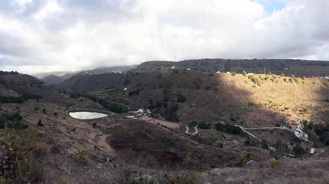 08 Barranco de Lezcano El Toscon carretera de Teror GC21 Romeria del Pino 2018 de Tamaraceite a Teror Gran Canaria
