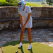 LPGA Golfer Natalie Gulbis Practicing her Putting with GolfGreens on the Go by ForeverLawn