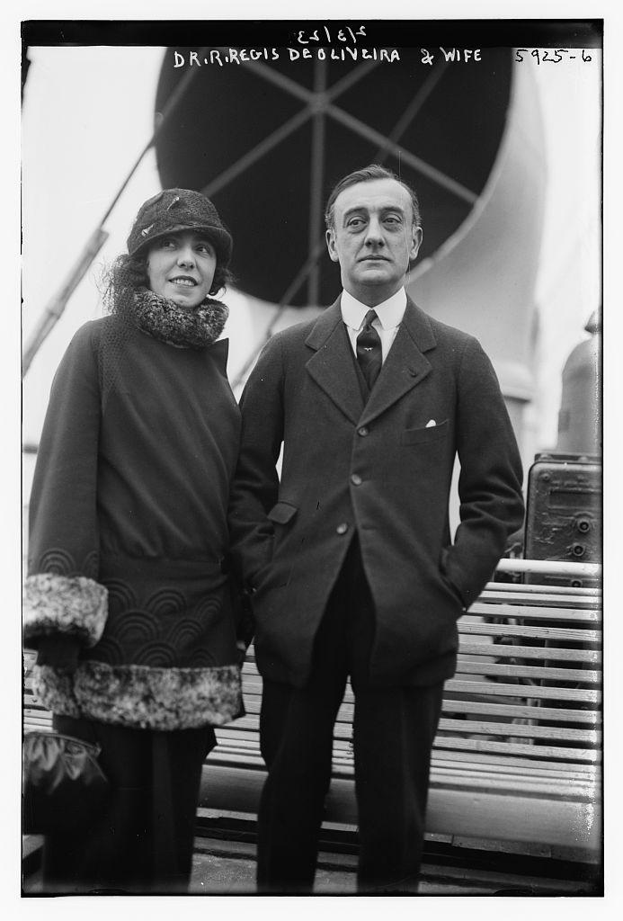 Dr. R. Regis De Oliveira and wife (LOC)
