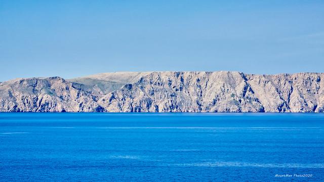 Kamena obala otoka Krka