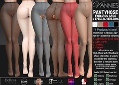 VANNIES Pantyhose Endless Legs (Special Edition)