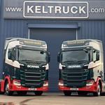 Superb Scania fleet for William Gilder Group supplied by Keltruck
