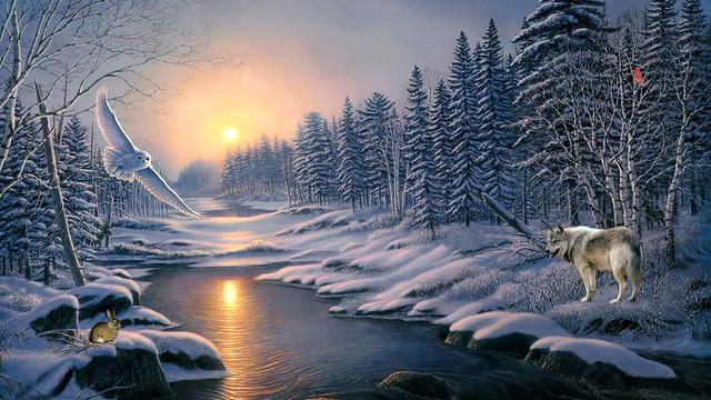 Winter River drama